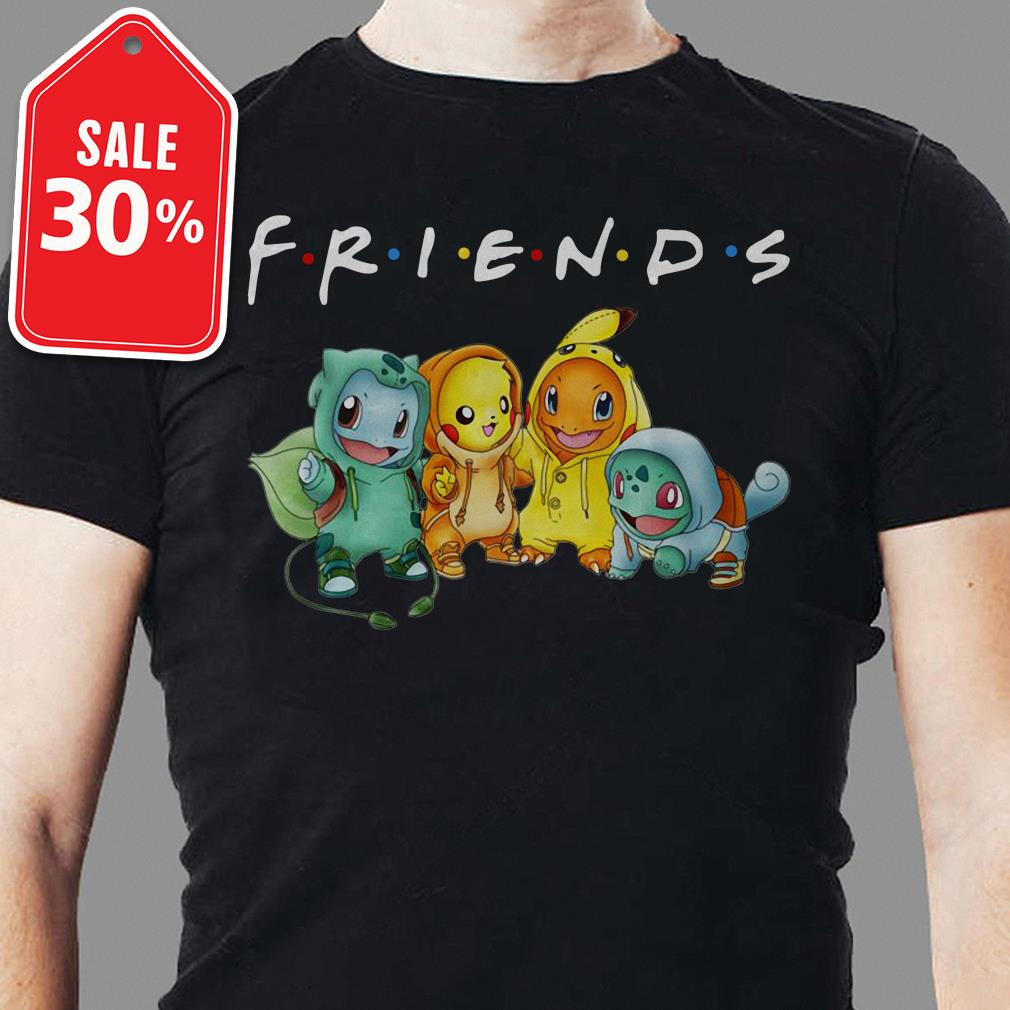 Official Pokemon Friends TV show shirt by tshirtat store Shirt