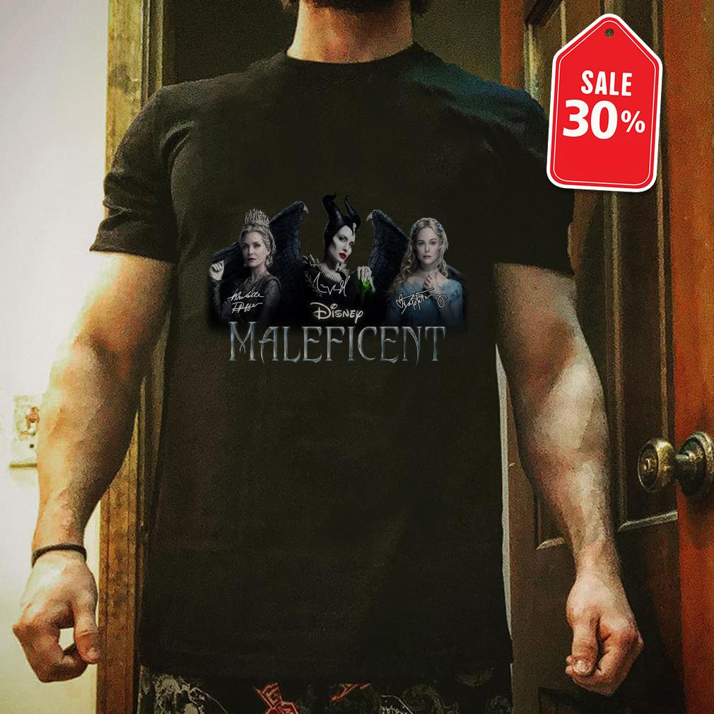 Official Disney Maleficent signatures shirt by tshirtat store Shirt