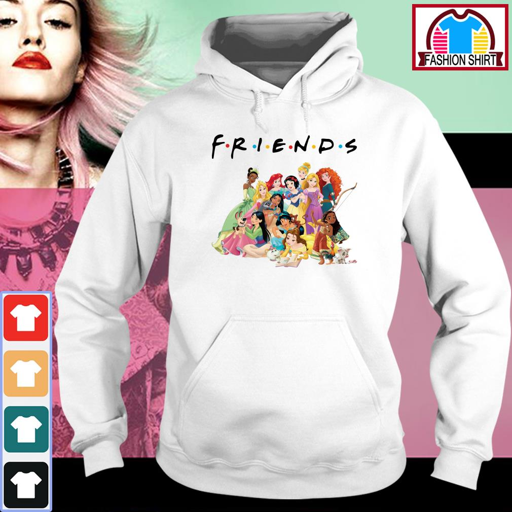 Official Disney Princess Friends shirt by tshirtat store Hoodie