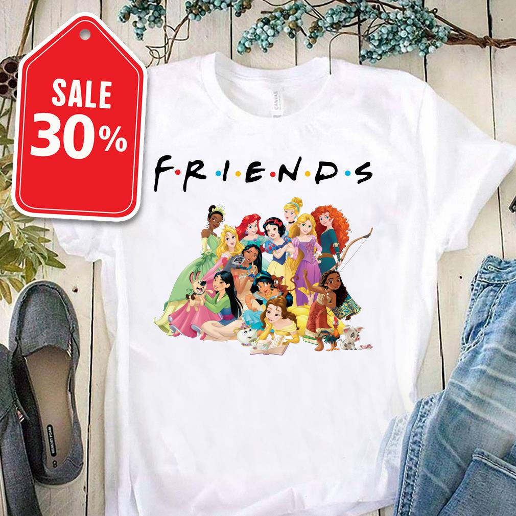 Official Disney Princess Friends shirt by tshirtat store Ladies Tee