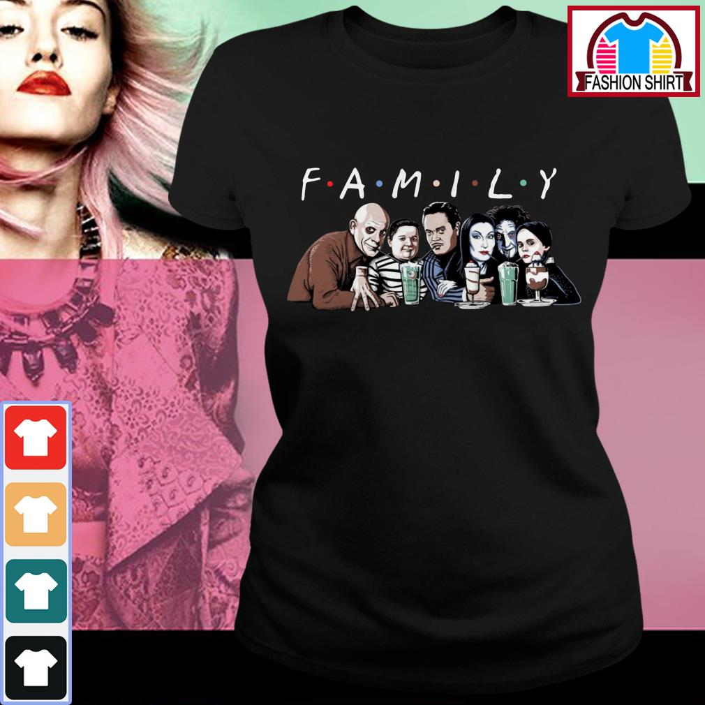 Official Emily Addams Family Friends TV show Halloween shirt by tshirtat store Ladies Tee