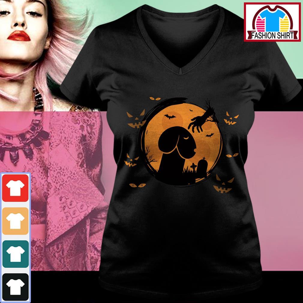 Official Halloween Dickhead Dog Noma Bar shirt by tshirtat store V-neck T-shirt
