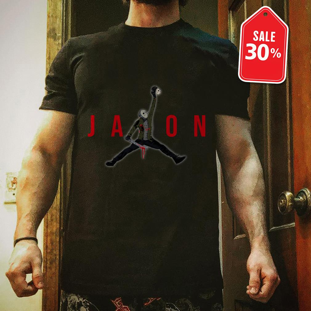 Official Jason Voorhees Air Jordan shirt by tshirtat store Shirt