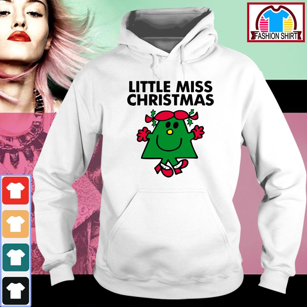Official Little miss Christmas shirt by tshirtat store Hoodie