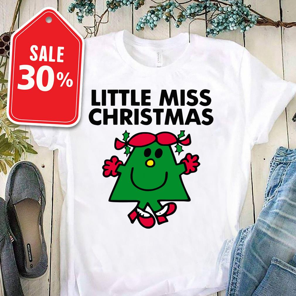 Official Little miss Christmas shirt by tshirtat store Ladies Tee
