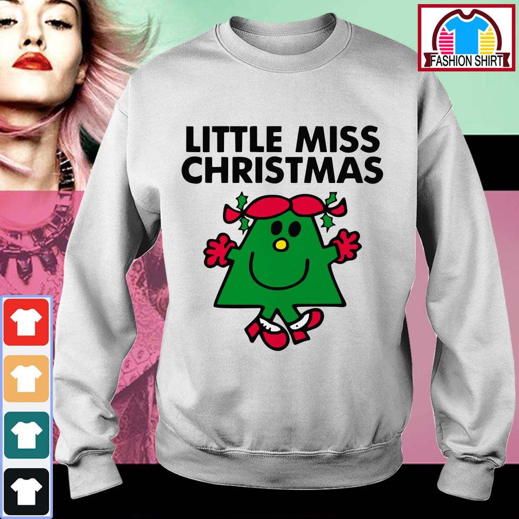 Official Little miss Christmas shirt by tshirtat store Sweater