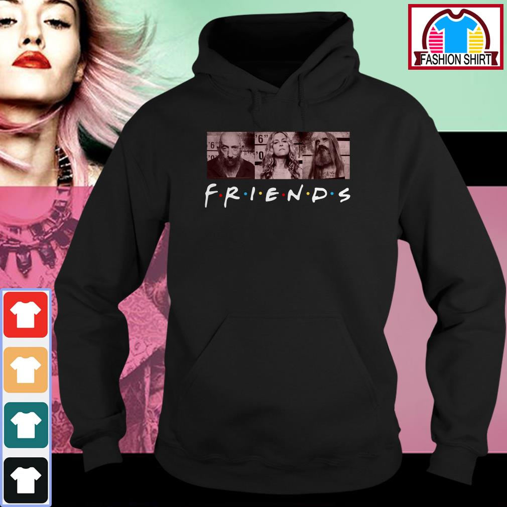 Official Rob zombie 3 from hell Friends shirt by tshirtat store Hoodie