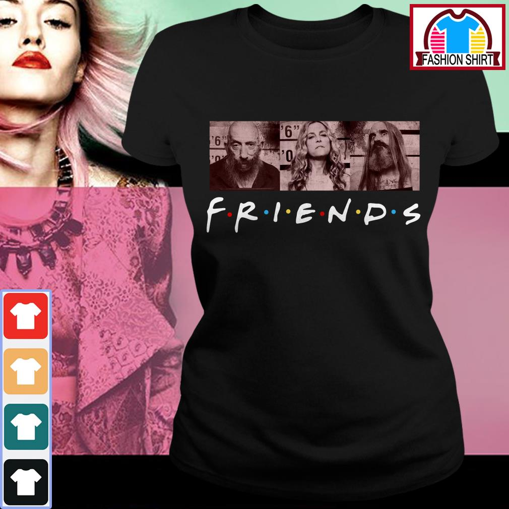 Official Rob zombie 3 from hell Friends shirt by tshirtat store Ladies Tee