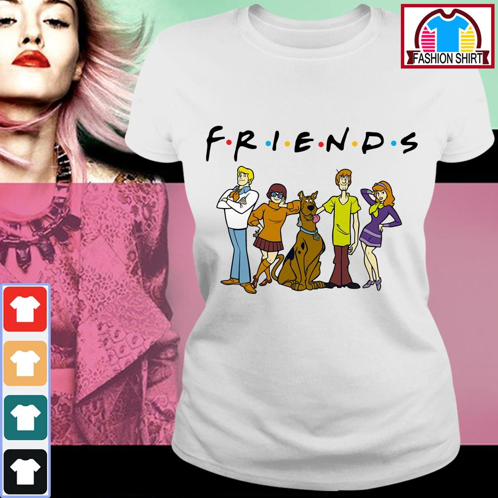 Official Scooby Doo friends shirt by tshirtat store Ladies Tee