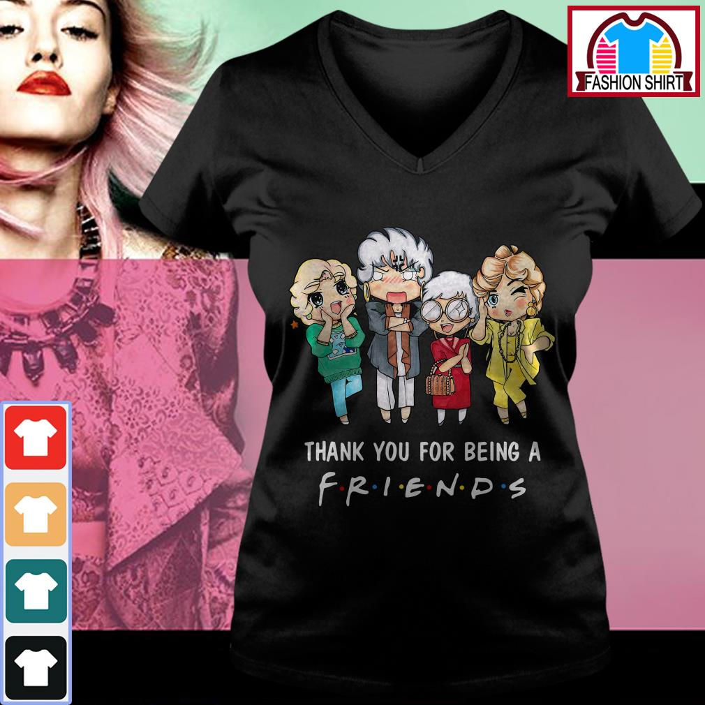 Official The Golden Girls thank you for being a friend shirt by tshirtat store V-neck T-shirt