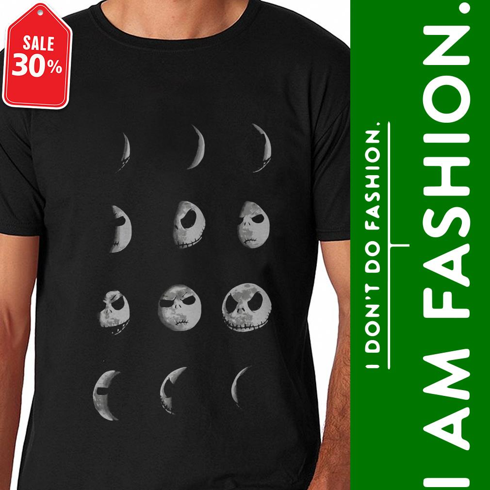 Official The Nightmare Before Christmas Jack Moon shirt by tshirtat store Shirt