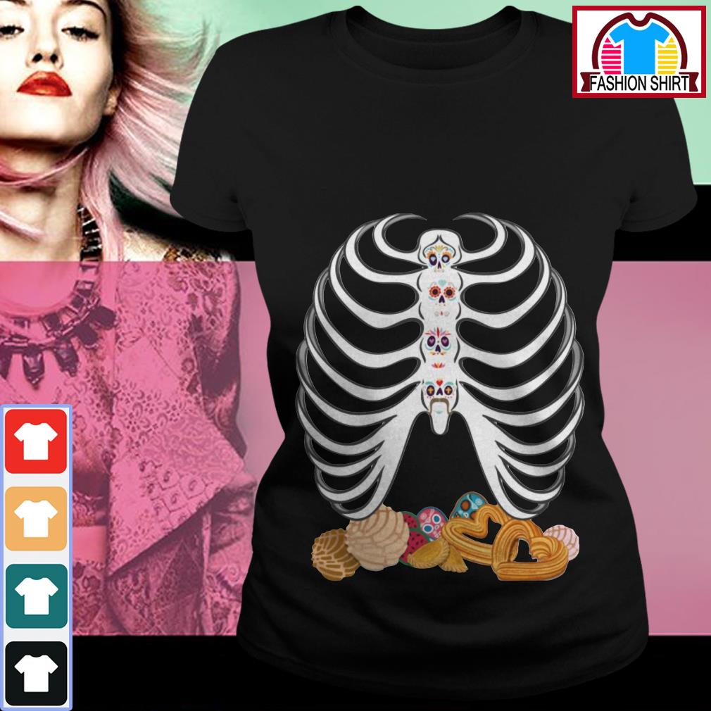 Official Dia De Los Muertos Pan Dulce shirt by tshirtat store Ladies Tee