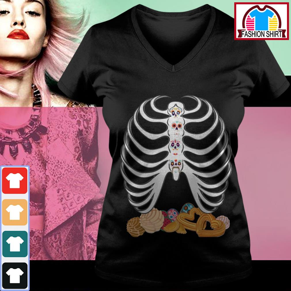 Official Dia De Los Muertos Pan Dulce shirt by tshirtat store V-neck T-shirt