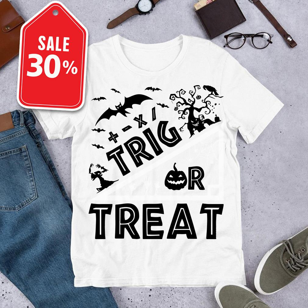 Official Halloween trick or treat shirt by tshirtat store Shirt