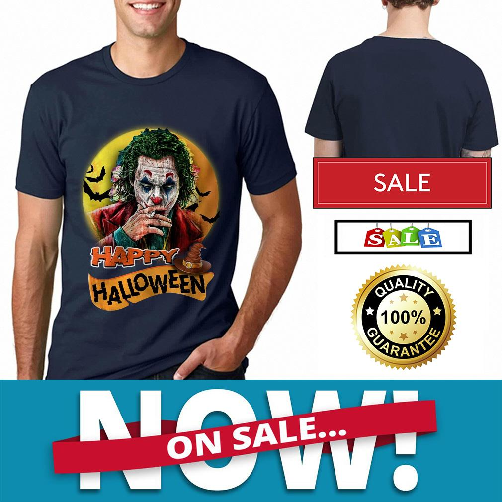 Official Joker Joaquin Phoenix Happy Halloween Shirt By