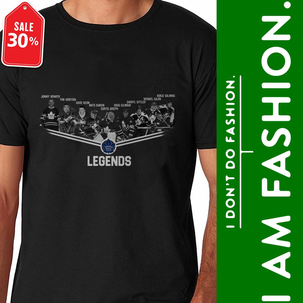 Official Toronto Maple Leafs legends signatures shirt by tshirtat store Shirt
