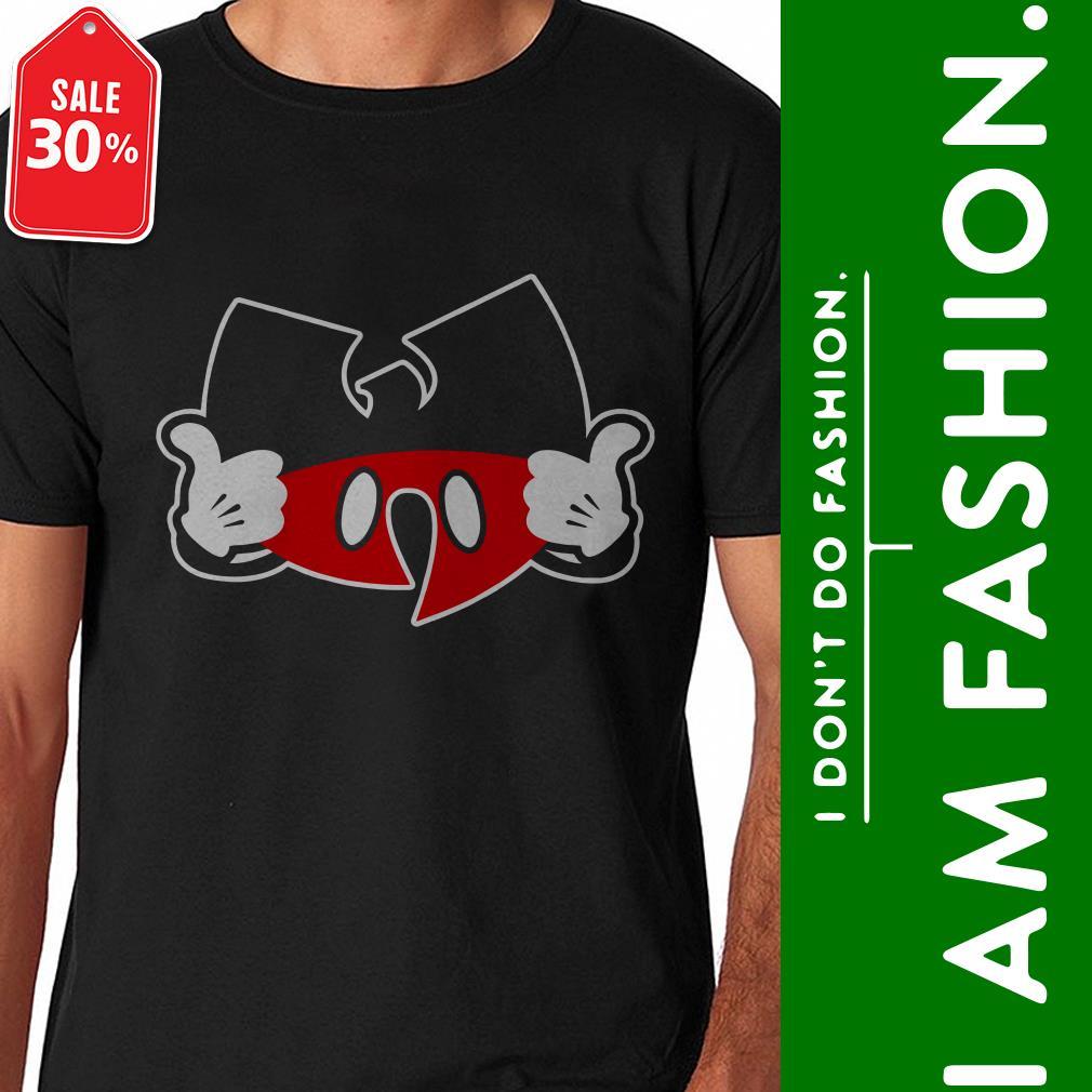 Official Wutang clan Mickey mouse shirt by tshirtat store Shirt