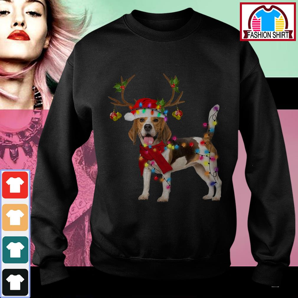 Official Beagle Dog Light Christmas shirt by tshirtat store Sweater