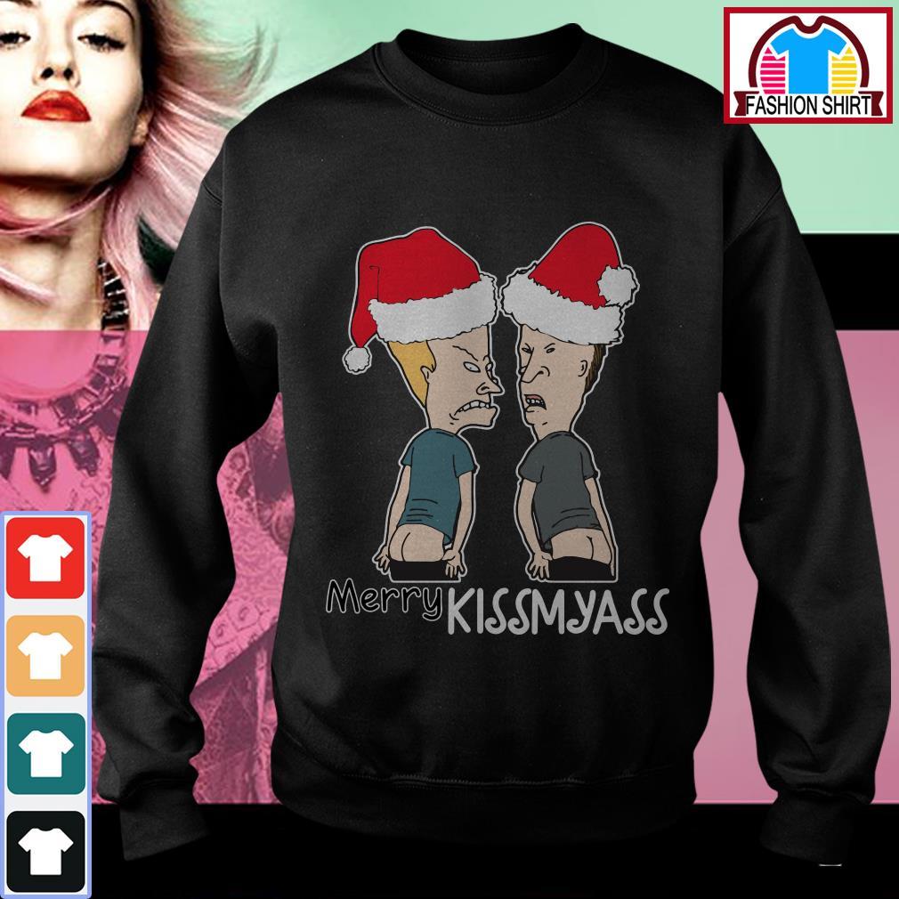 Official Beavis and Butt-Head Merry Kissmayass shirt by tshirtat store Sweater