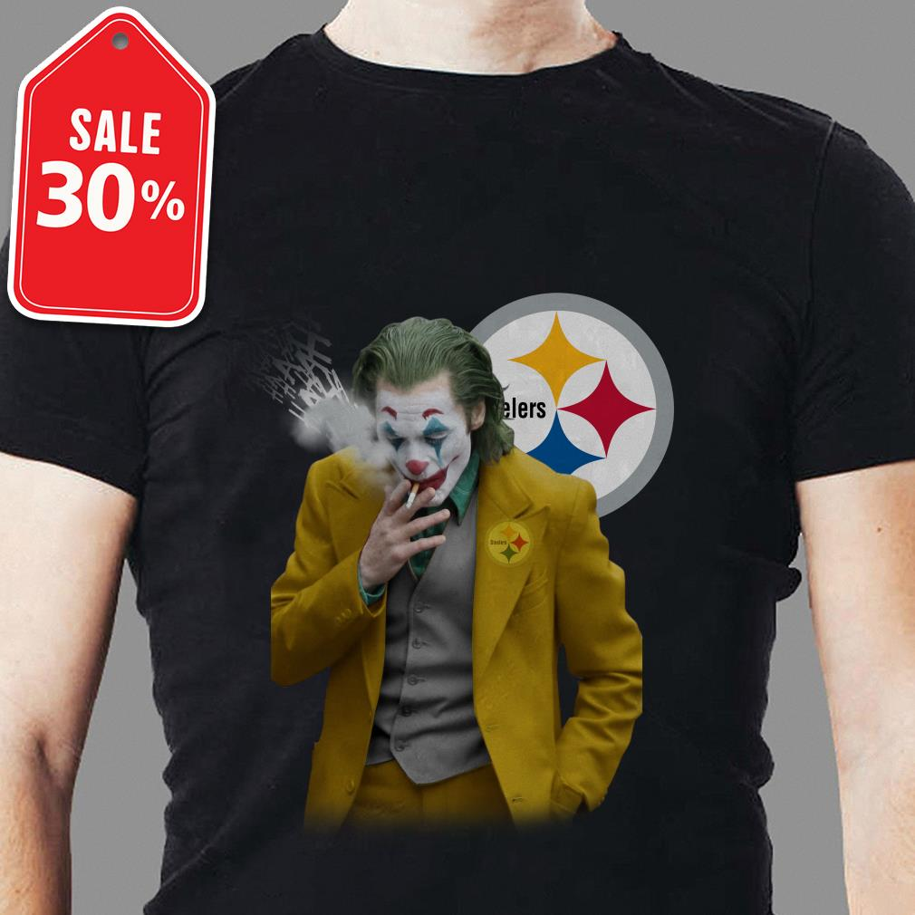 Official Joker Joaquin Phoenix Pittsburgh Steelers Shirt
