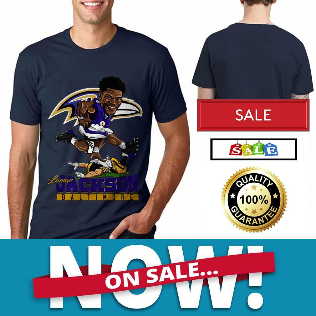 Official Lamar Jackson Baltimore Ravens shirt by tshirtat store Shirt