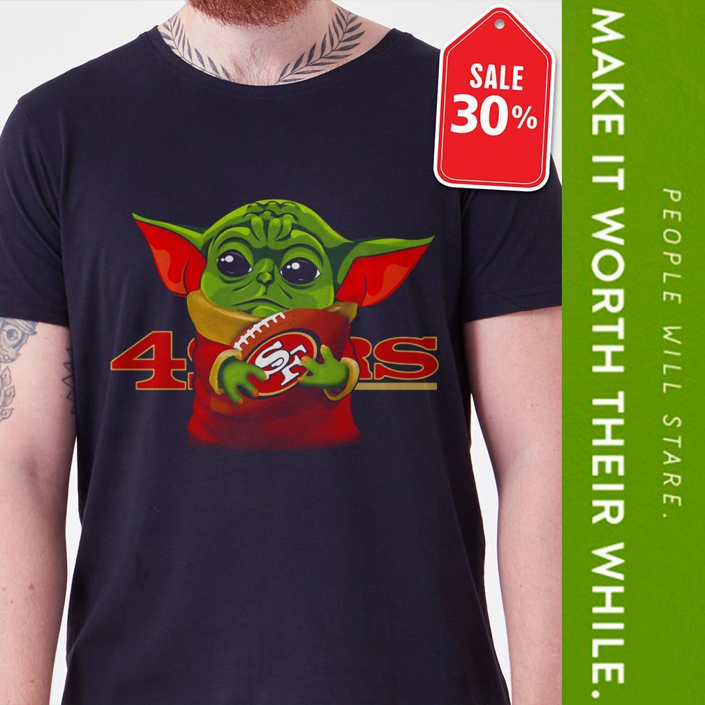 New Official Baby Yoda hug San Francisco 49ers shirt by tshirtat store Shirt