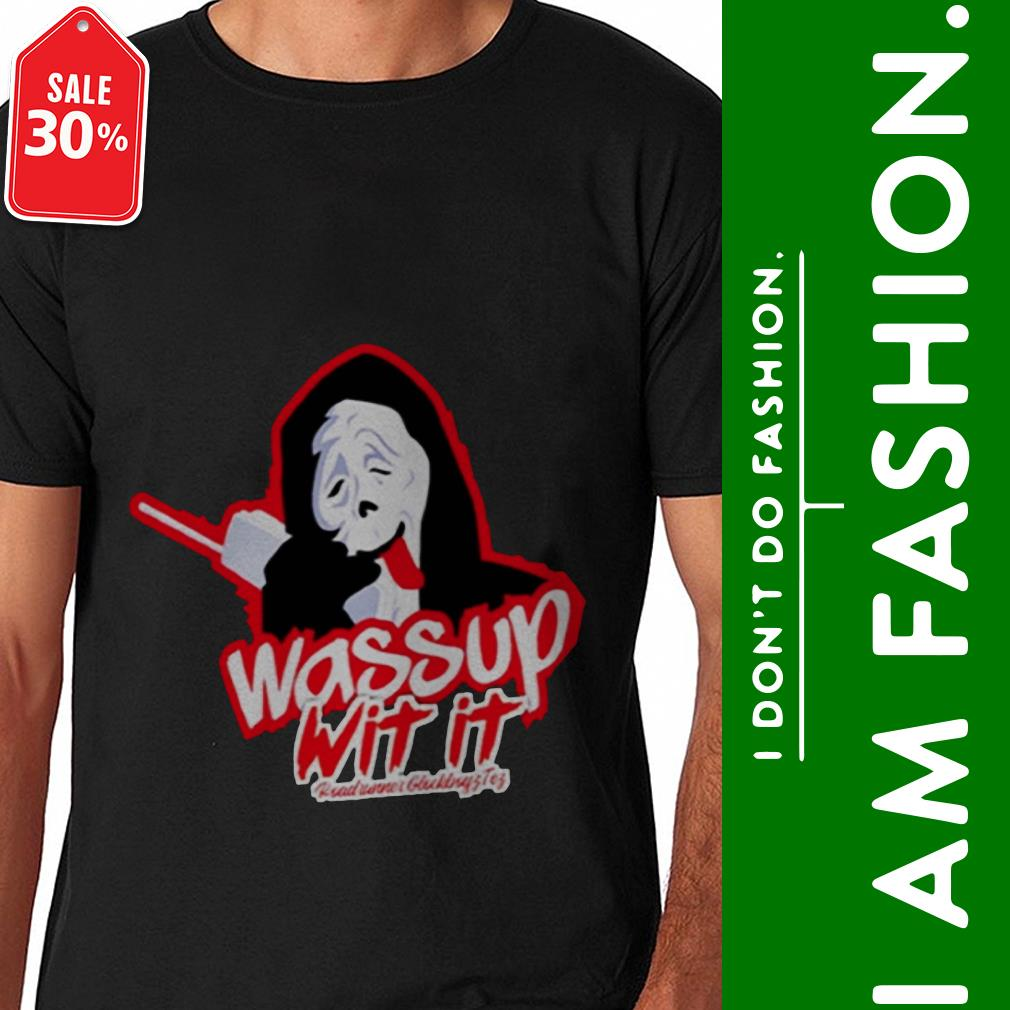 Official Wassup wit it shirt by tshirtat store Shirt