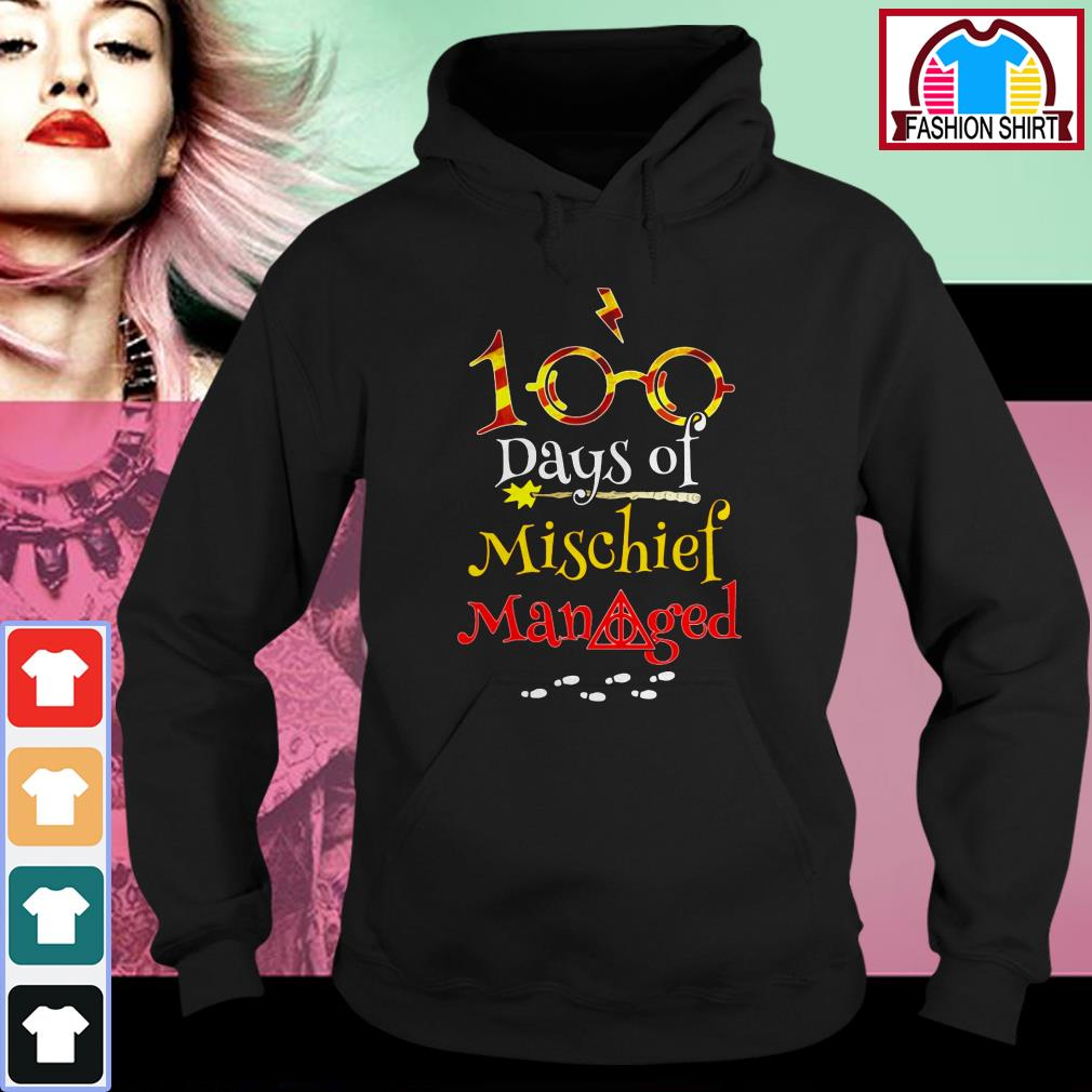 Harry Potter 100 days of mischief managed shirt by tshirtat store Hoodie