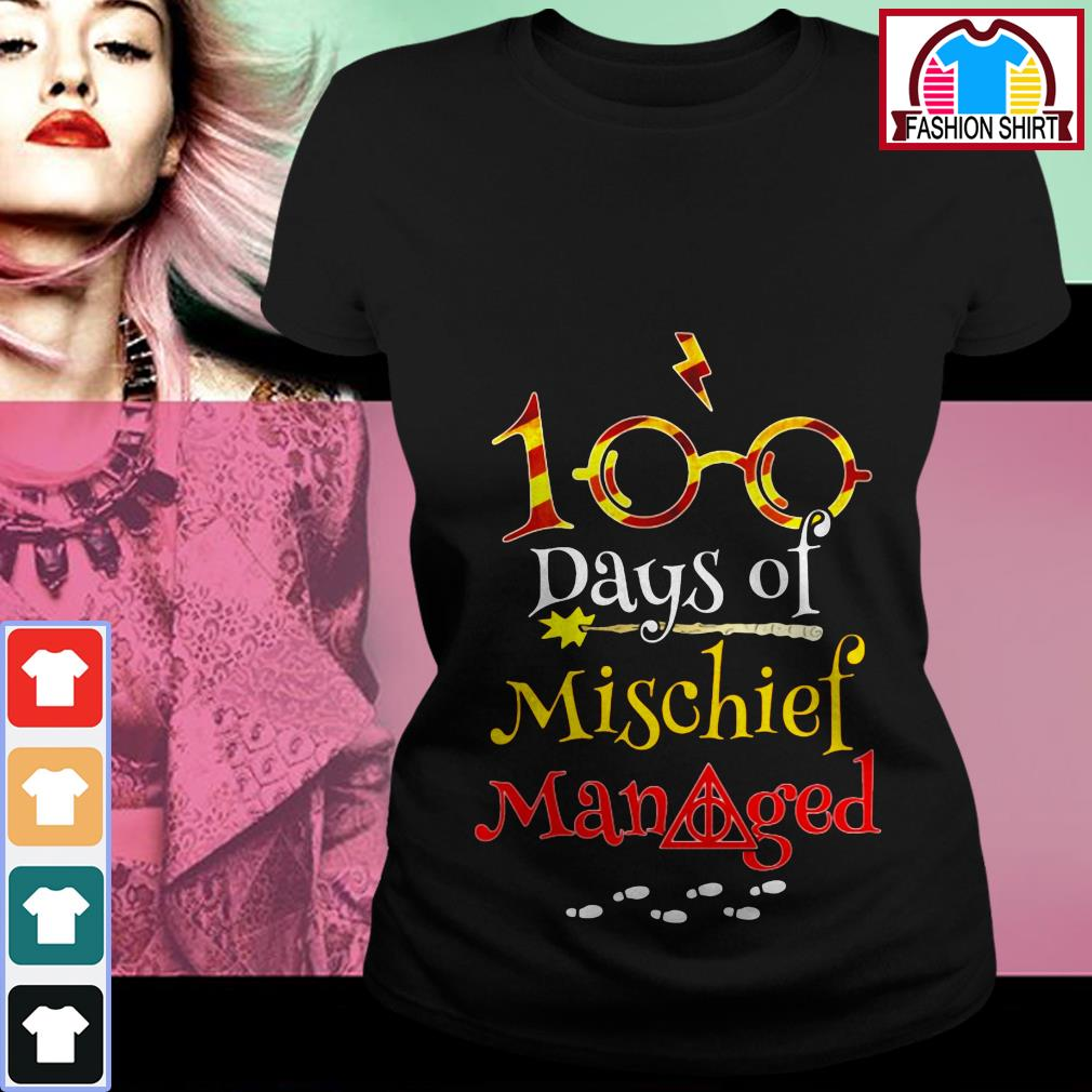 Harry Potter 100 days of mischief managed shirt by tshirtat store Ladies Tee