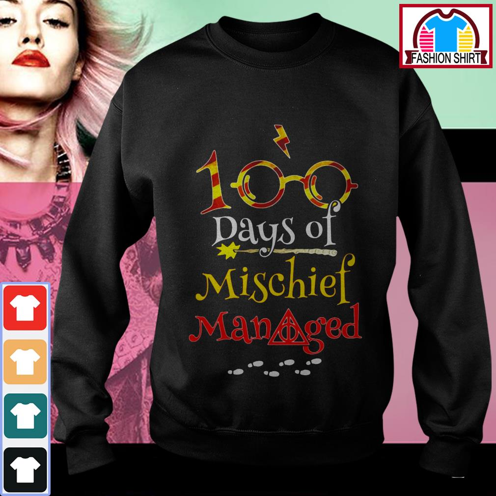 Harry Potter 100 days of mischief managed shirt by tshirtat store Sweater