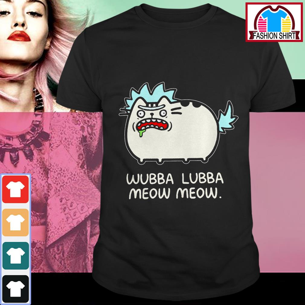 Official Rick Sanchez cat wubba lubba meow meow shirt by tshirtat store Shirt