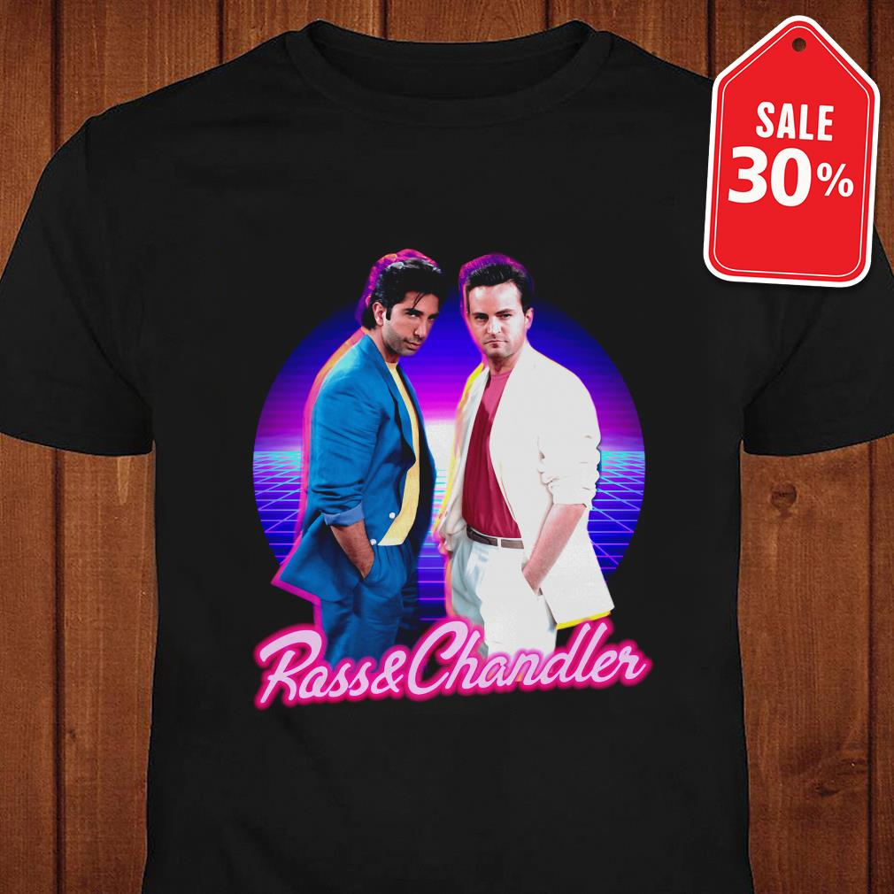 Official Ross and Chandler Friends Retro shirt by tshirtat store Shirt