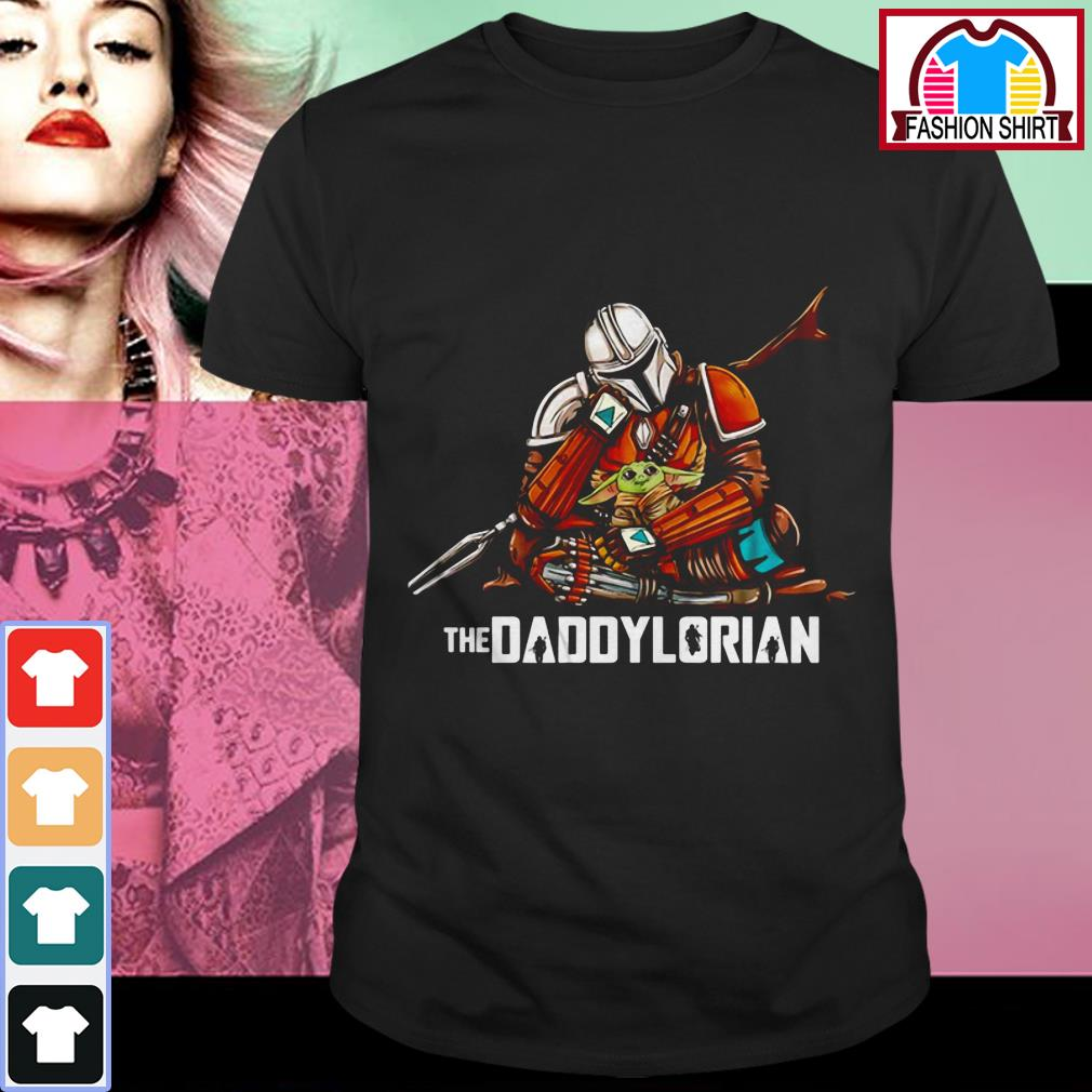 Official The Mandalorian The Daddylorian shirt by tshirtat store Shirt