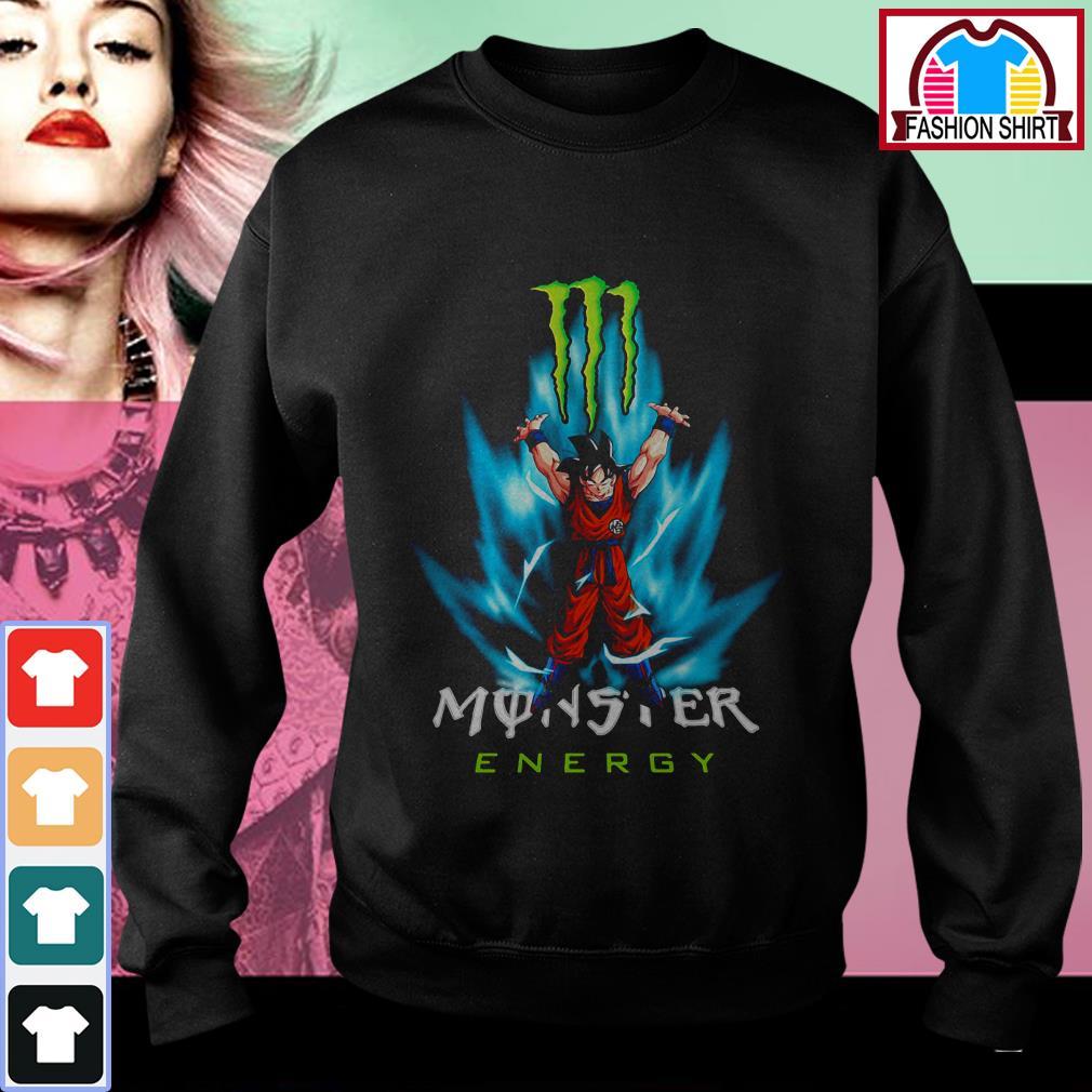 Dragon Ball Z Son Goku Monster energy Sweater
