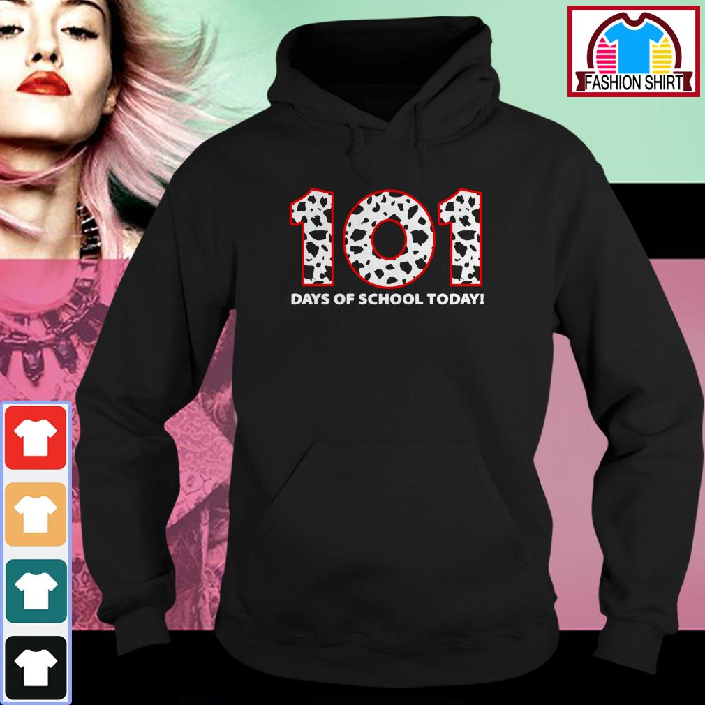 Official 101 days of school today shirt by tshirtat store Hoodie