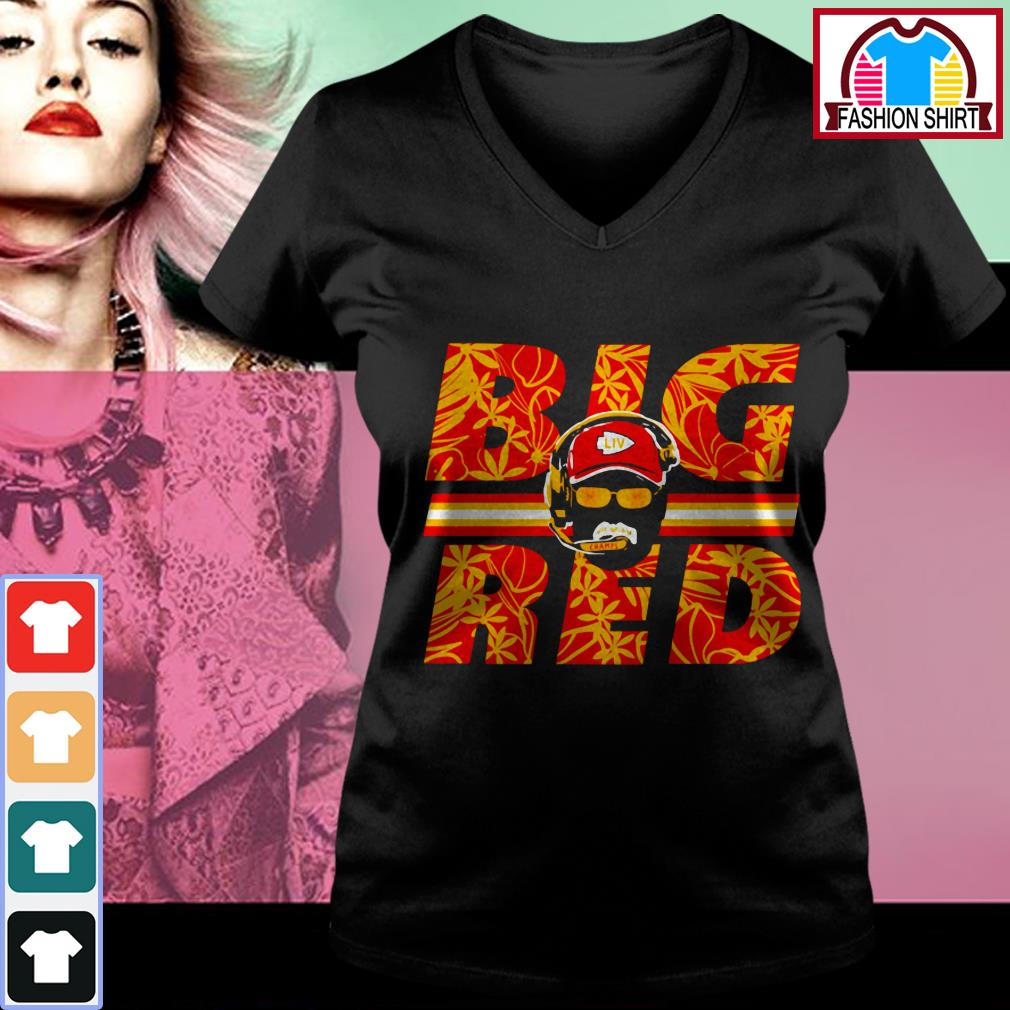 Official Andy Reid big red shirt by tshirtat store V-neck T-shirt