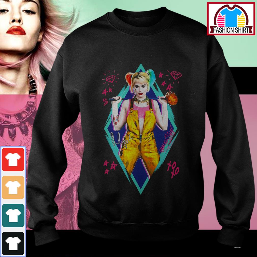 Official Birds of Prey Harley Quinn signature shirt by tshirtat store Sweater