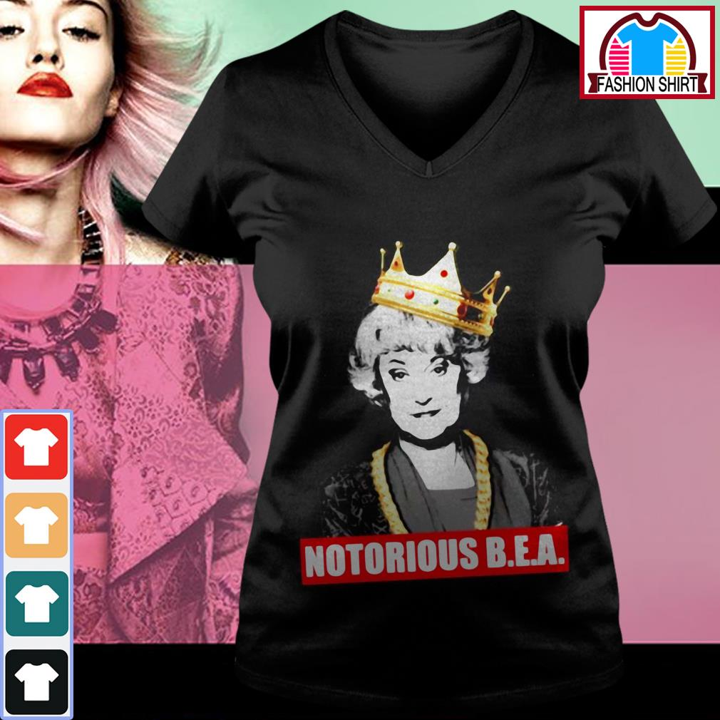 Official Blanche Notorious B.E.A shirt by tshirtat store V-neck T-shirt