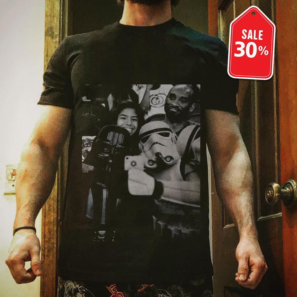 Official Darth Vader and Stormtrooper selfie with Kobe Bryant shirt by tshirtat store Shirt