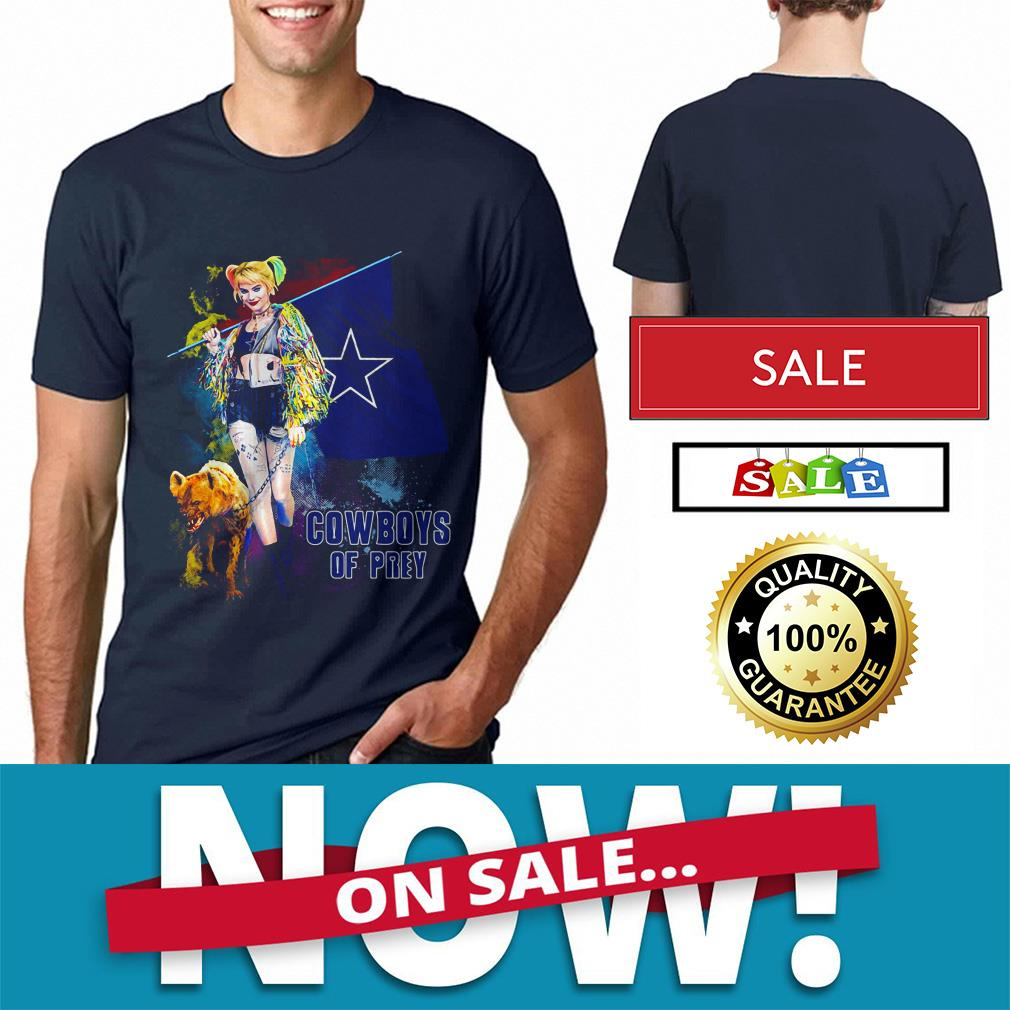 Official Harley Quinn Dallas Cowboy of Prey shirt by tshirtat store Shirt