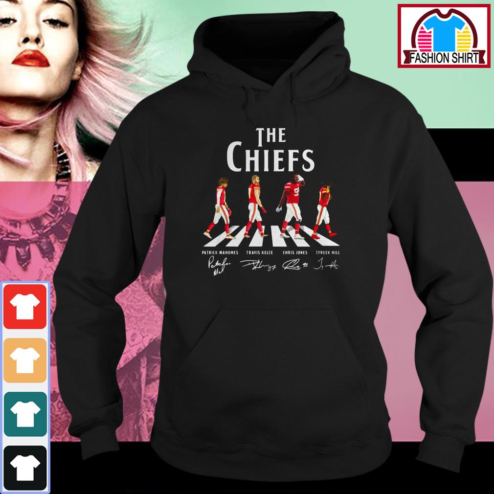 Official Kansas City Chiefs The Chiefs Abbey Road signatures shirt by tshirtat store Hoodie