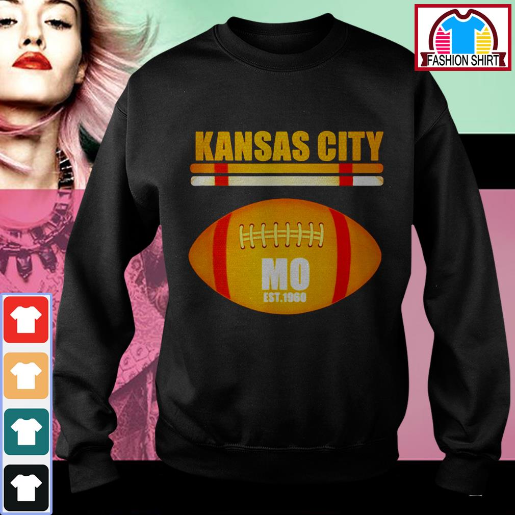 Official Kansas City Football Fan Missouri KC great shirt by tshirtat store Sweater