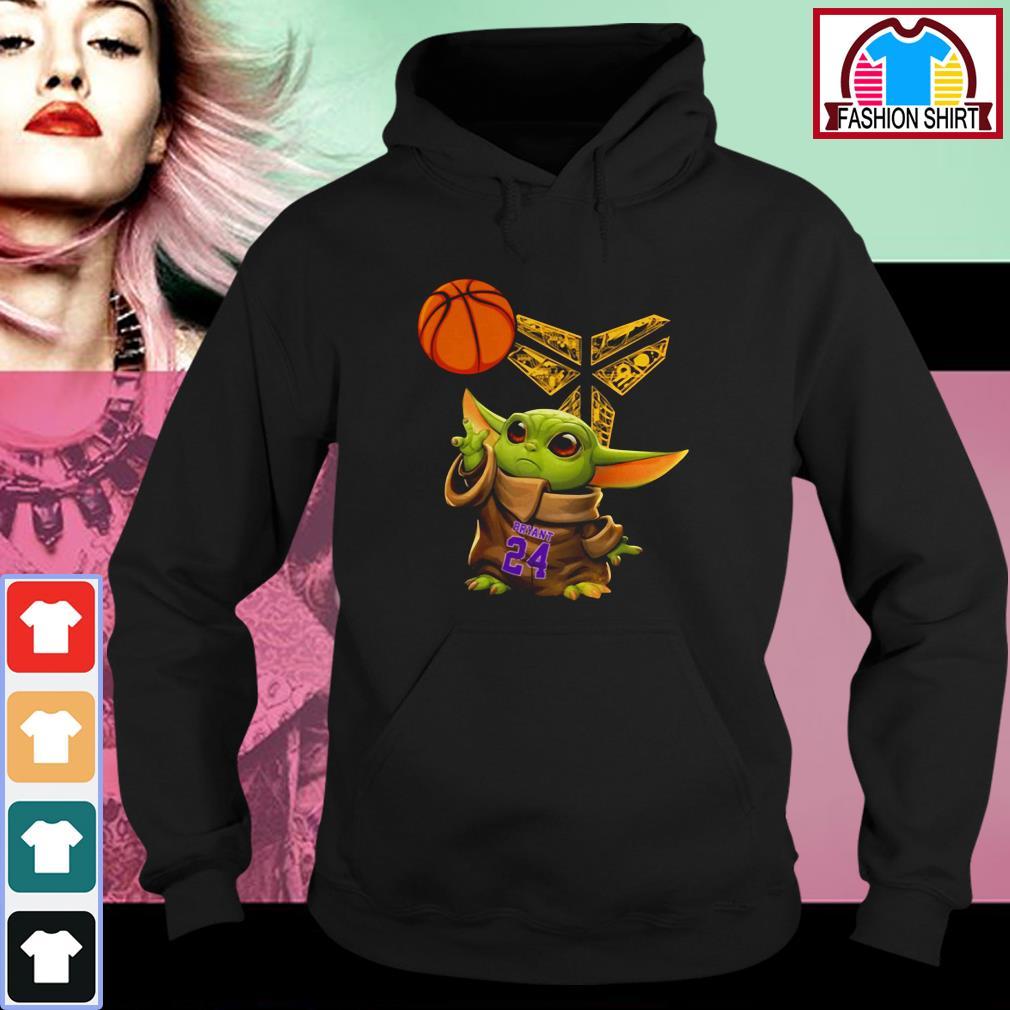 Official Kobe Bryant Baby Yoda Black Mamba Basketball shirt by tshirtat store Hoodie