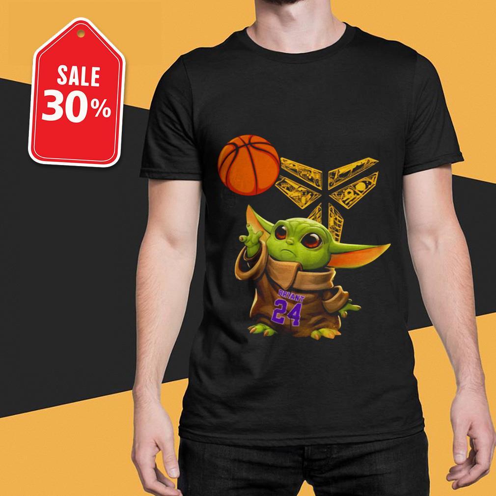 Official Kobe Bryant Baby Yoda Black Mamba Basketball shirt by tshirtat store Shirt