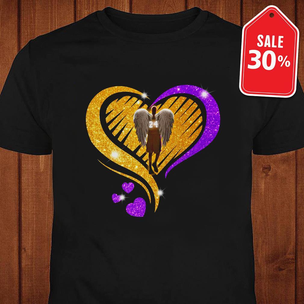 Official Kobe Bryant diamond heart shirt by tshirtat store Shirt
