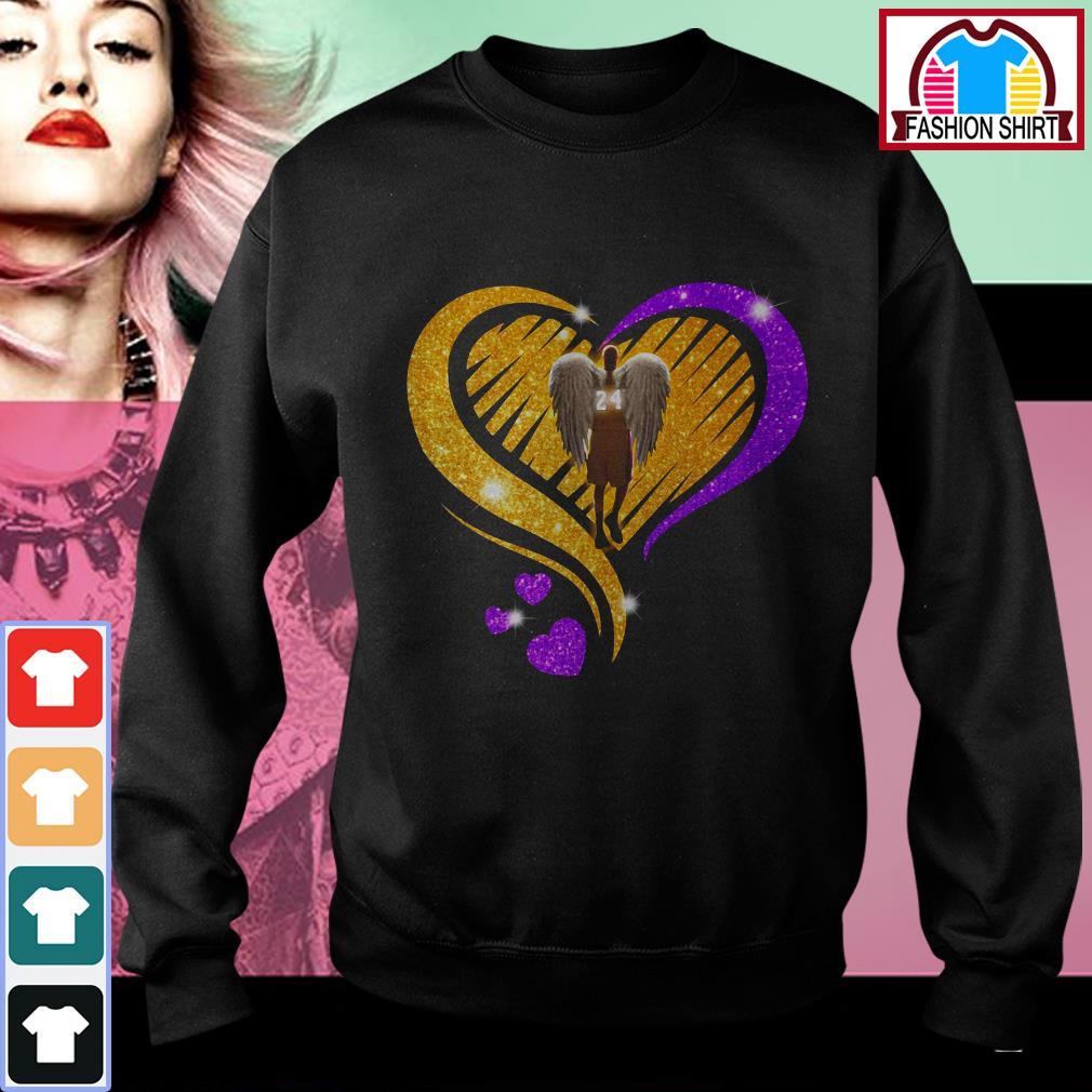 Official Kobe Bryant diamond heart shirt by tshirtat store Sweater