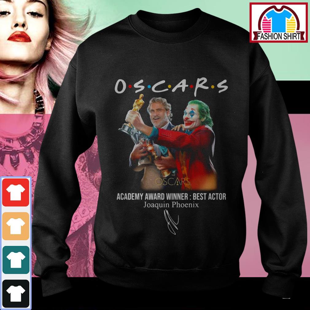 Official Oscars Academy award winner best actor Joaquin Phoenix shirt by tshirtat store Sweater