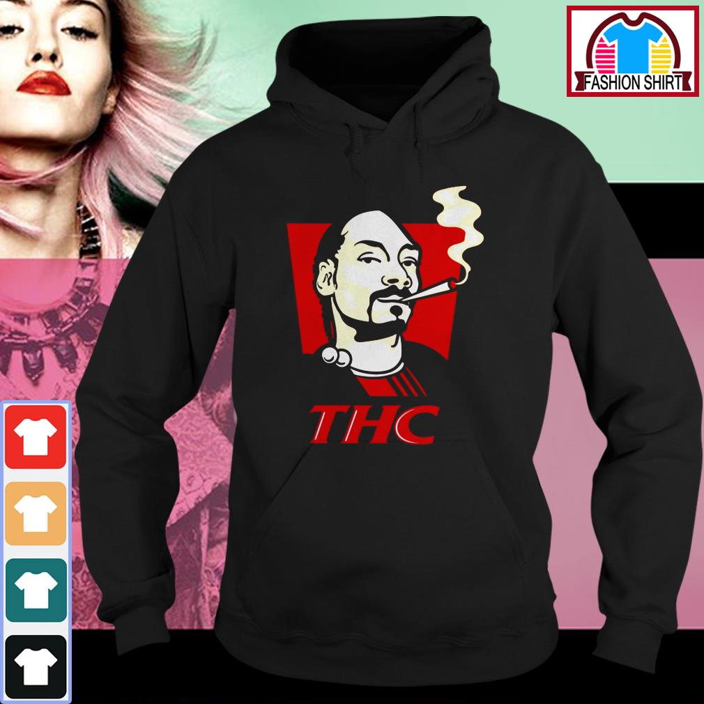 Official Snoop Dog smokes THC shirt by tshirtat store Hoodie
