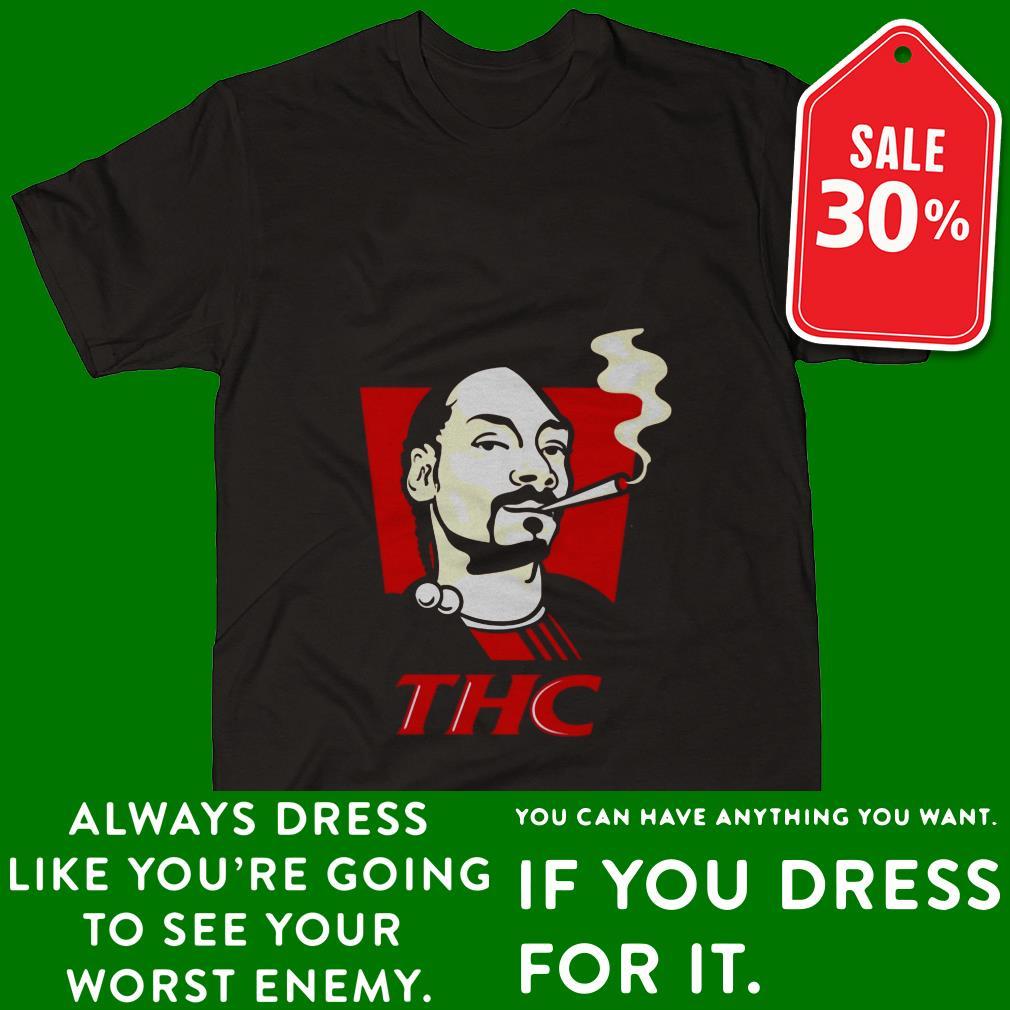 Official Snoop Dog smokes THC shirt by tshirtat store Shirt