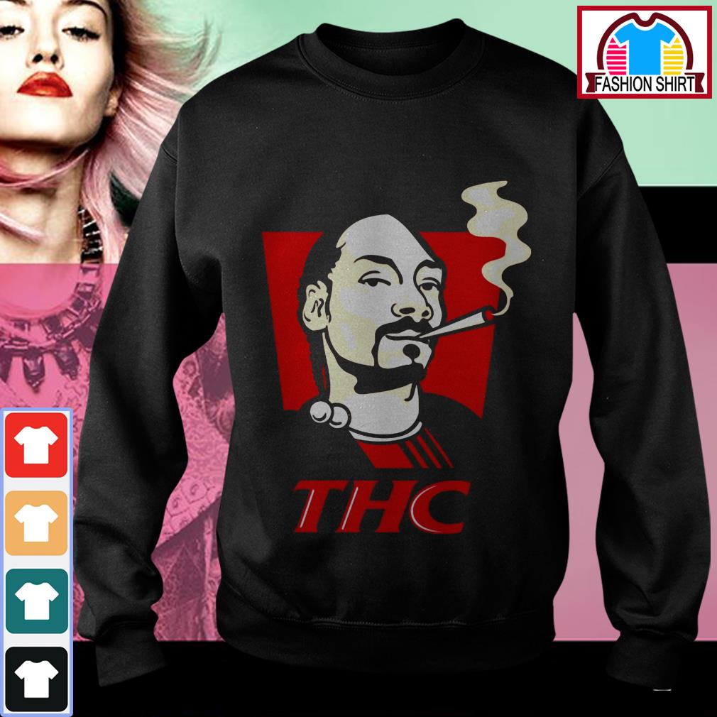 Official Snoop Dog smokes THC shirt by tshirtat store Sweater